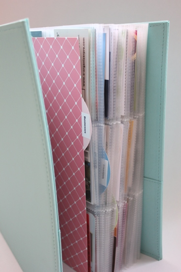 business card binder 3