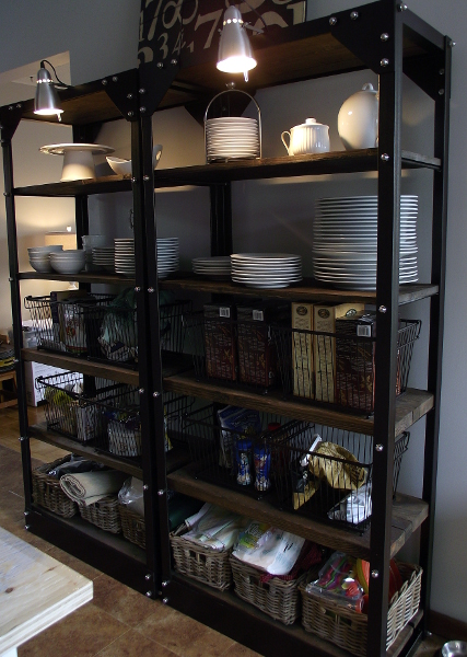 Organizing open shelves workwithnaturefo