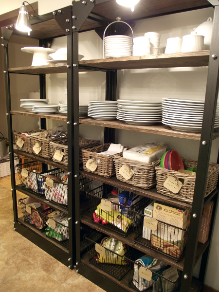 restaurant kitchen organization organizing open shelves 1905