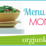 Menu Plan Monday ~ April 22/13