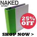 naked binder new