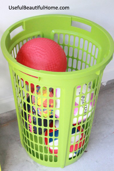 UBH 2 Bushel Basket for outdoor bouncy balls