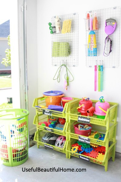 In Review When It Comes To Organizing Garage Toys For The Purpose Of Training Children Keep These Basics Mind