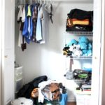 Organized Teenage Boy Closet ~ Day #27
