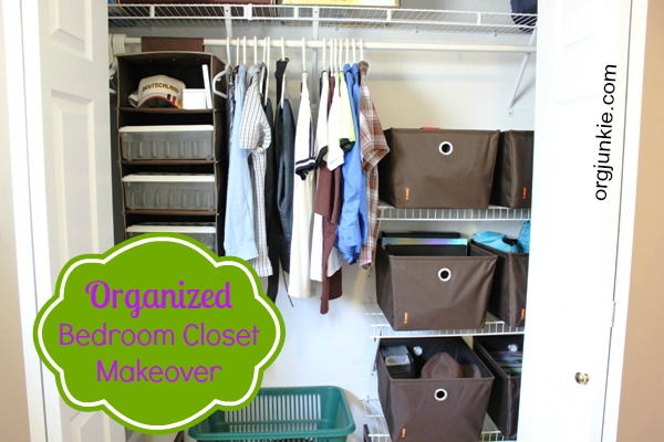 My Son 39 S Bedroom Closet Gets An Organized Makeover