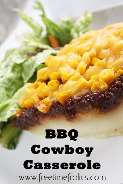 BBQ Cowboy Casserole