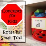 Organizing Concepts for Kids: Rotating Toys