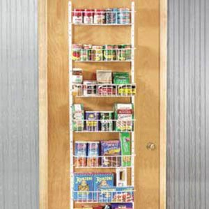 Over Door Rack Pantry Organizer