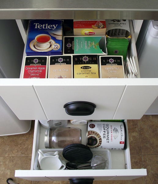 tea and coffee drawers 2
