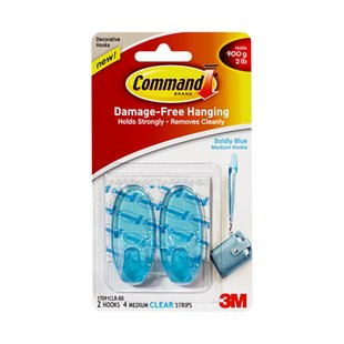 Command  colored clear hooks
