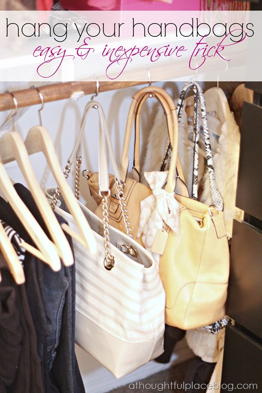 Organize Your Clothes 10 Creative And Effective Ways To Store And Hang Your Clothes: DIY Storage Bins, Handbag Storage & More