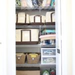 Organizing my Linen Closet + Lands' End Storage Totes Giveaway!
