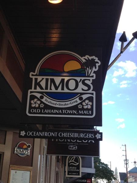 Kimo's in Maui