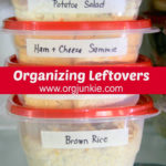 Organizing Leftovers