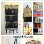 Closet Door Storage Space ~ Day #31