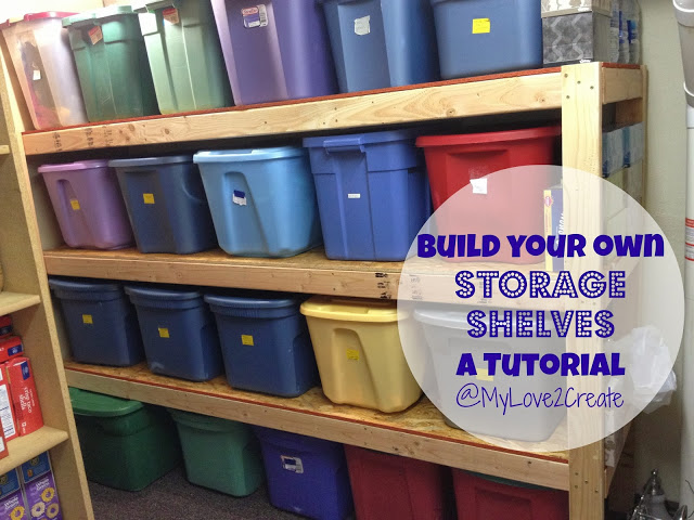 how to build kids room shelf