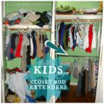 Maximizing Space with a Closet Extender Rod ~ Day #28