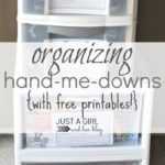 Organizing Kids Clothes & Hand-Me-Downs ~ Day #15