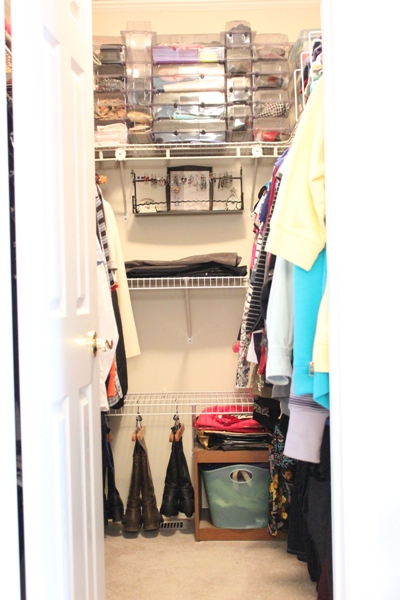 My Organized Closet featuring Neat Containers