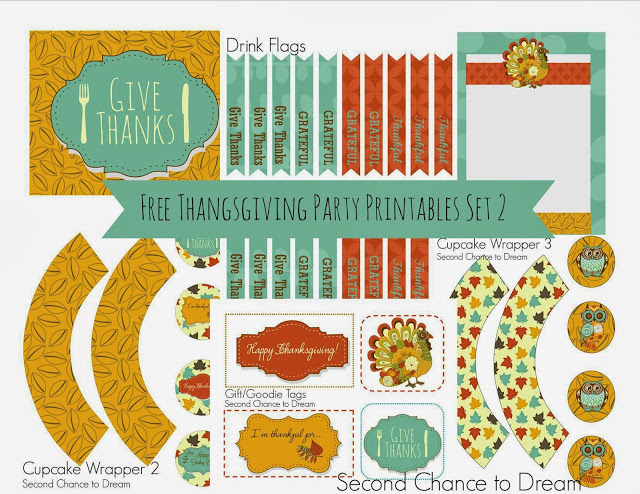 Thanksgiving printables 2