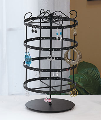 revolving earring holder