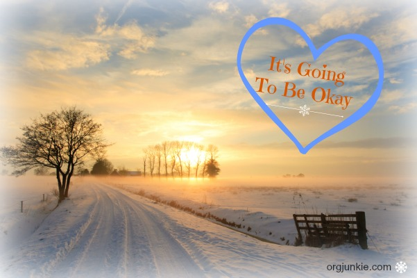 It's Going to be Okay....for Christmas comes and a baby is born in a manger.