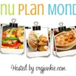 Menu Plan Monday ~ Dec 30/13