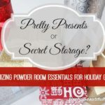 Organizing Powder Room Essentials for Holiday Guests