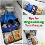 Quick Tips for Organizing the Deep Freezer
