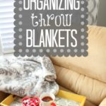 Organizing Throw Blankets