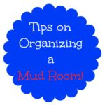 Tips on Organizing a Mud Room