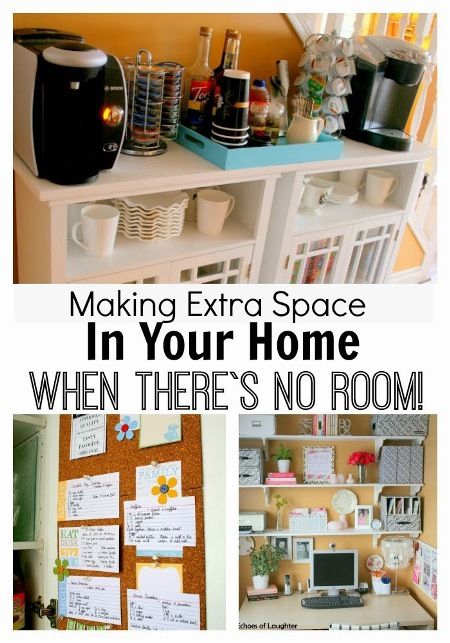 Making Extra Space In Your Home When There's No Room