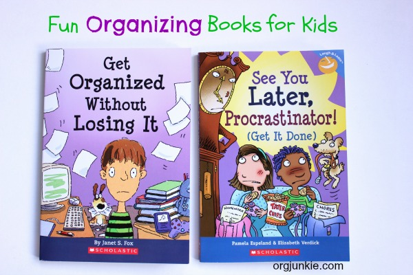 Kids organization tips and books