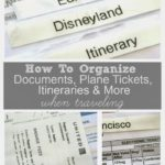 How to Organize Travel Documents When Traveling