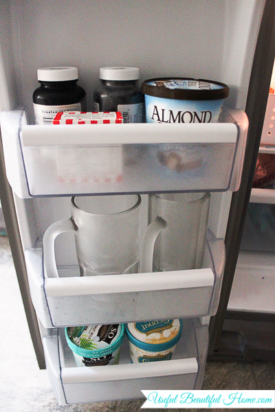 Making the most of built-in freezer compartments