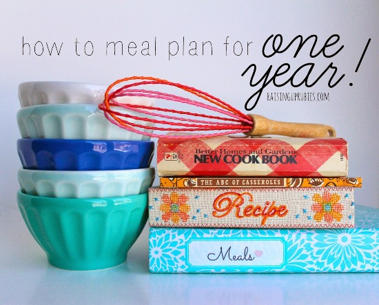 meal plan for one year! raisinguprubies.com