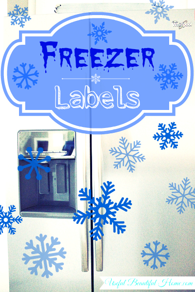 Freezer Friendly Labels