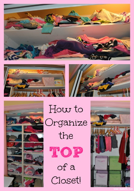 How to organize the top of a closet How to organize your clothes without a closet