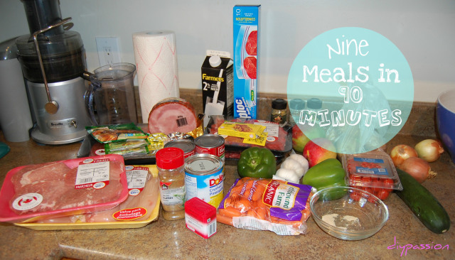 Nine Meals in 90 Minutes