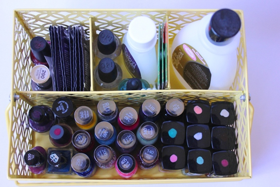 Organized Nail Polish Caddy 1