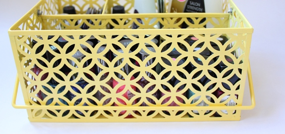 Organized Nail Polish Caddy 2