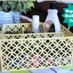 Organized Nail Polish Caddy