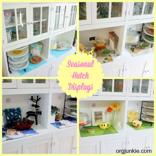 Seasonal Hutch Displays at orgjunkie.com
