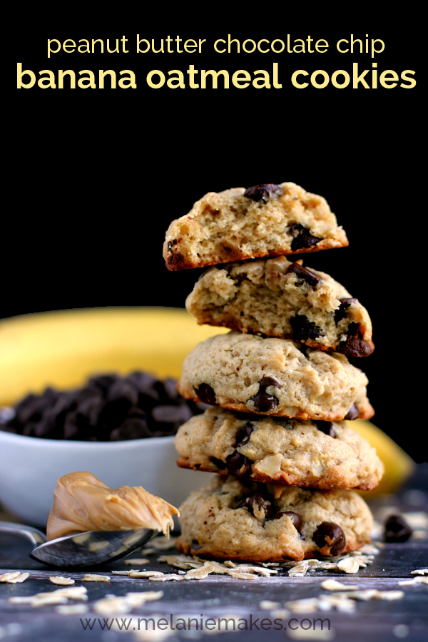 chocolate chip cookies flourless peanut butter chocolate chip oatmeal ...