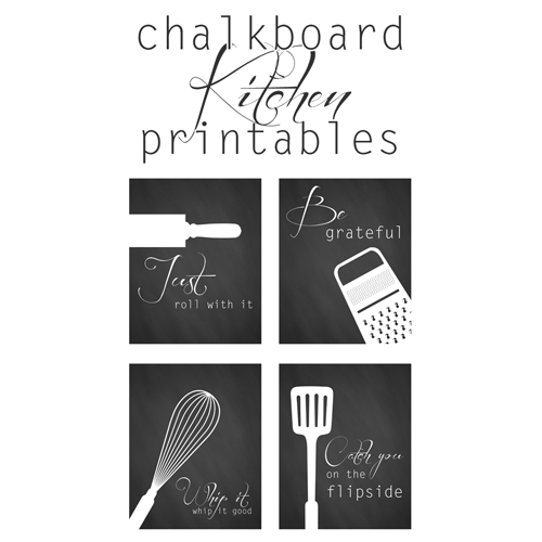 Free Kitchen Printables