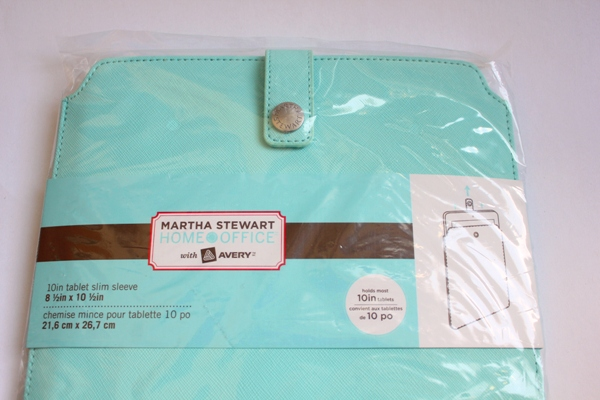 Martha Stewart Tablet Sleeve