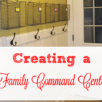 Creating a family command center cropped