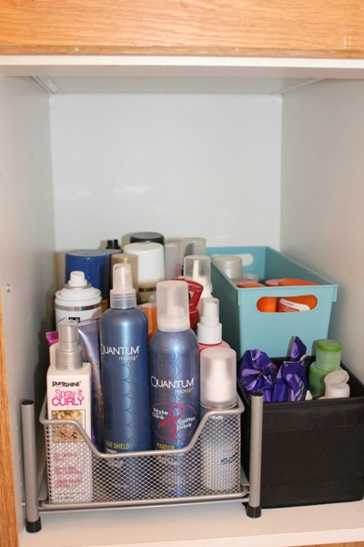 Hair Product Storage 1
