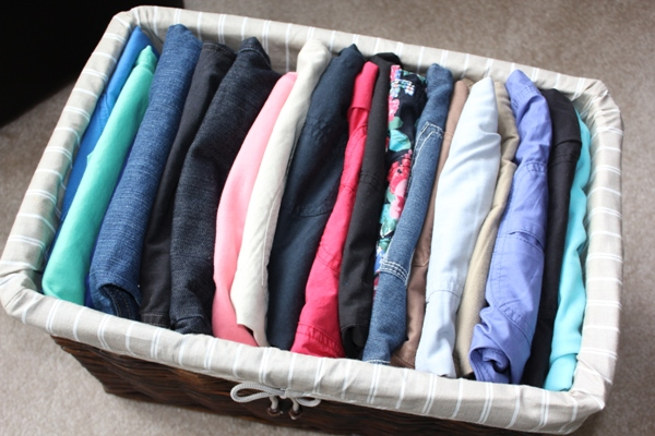 Organizing Shorts for Summer 2