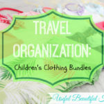 Travel Organization Children's Clothing Bundles